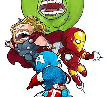 avengers by GrizzlyJerr