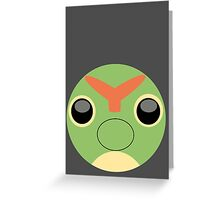 Caterpie Ball Greeting Card
