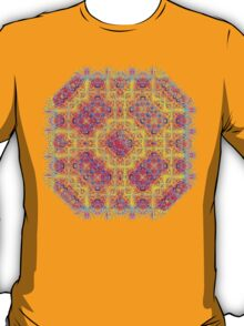 Psychedelic jungle kaleidoscope ornament 18 T-Shirt