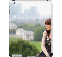 A day out in Greenwich - A view for dreams iPad Case/Skin