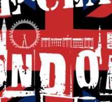London's Burning Sticker