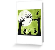 A Witch in The Woods Greeting Card
