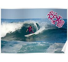 Jamming A Cutback Poster