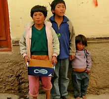 Children of Cusco by Alessandro Pinto