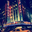 Radio City, NYC by Mitch Waite