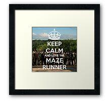 The Maze Runner Framed Print