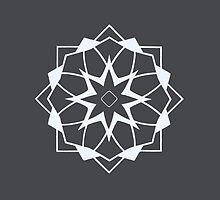 Mandala #218 || Chalk by RedBookJournals