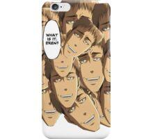 What is it Eren? Jean Kirschtein - Attack on Titan iPhone Case/Skin