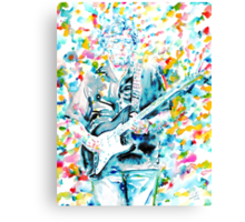 ERIC CLAPTON - watercolor portrait Canvas Print