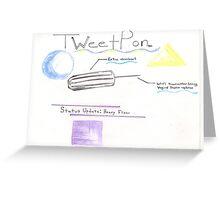 TweetPon Greeting Card