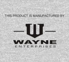 Manufactured by Wayne Enterprises by shirtaddict