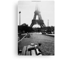 Breakfast In Paris Canvas Print