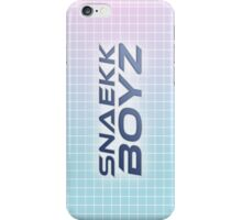 SNAEKK BOYZ iPhone Case/Skin