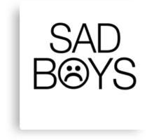 Sad Boys 2001 Yung Lean Canvas Print