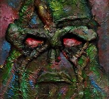 Swamp Thing Original by Luke Tomlinson
