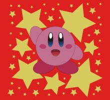 Kirby in the stars Kids Clothes