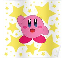 Kirby in the stars Poster