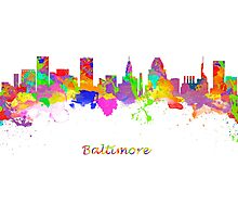 Baltimore USA Photographic Print