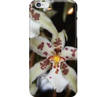 Orchid With Bokeh iPhone Case/Skin