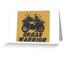 Urban Warrior Greeting Card