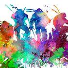 Ninja Turtles by Watercolorsart