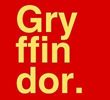 GRYFFINDOR by Teresa Juste