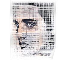 Elvis Presley original  ink painting Poster