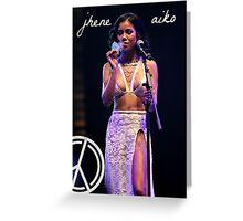 Jhene Aiko Greeting Card