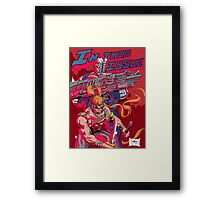 In this issue xforce Framed Print