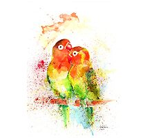 """Love Birds"" by IsabelSalvador"