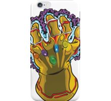 Infinity Gauntlet iPhone Case/Skin