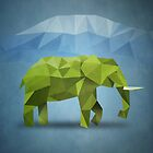Polygon Elephant by jobe