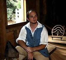 Colonial Shoemaker at Mt. Vernon by Gilda Axelrod