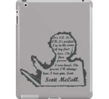Allison Quote- Number Two (Part One) In a Series iPad Case/Skin