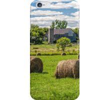 Hay bales iPhone Case/Skin