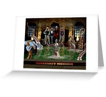 LOVECRAFT MANSION Greeting Card