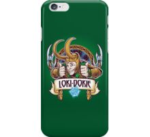 Loki-Dokie iPhone Case/Skin