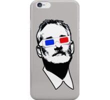 Bill Murray 3D Glasses iPhone Case/Skin
