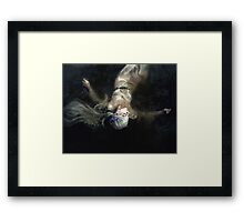Gone To Thy Watery Grave Framed Print