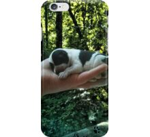 I LEFT FOOTPRINTS IN YOUR HEART EVEN WHILE IM SLEEPING>>LIFE IS PRECIOUS>>DOG -CANINE PICTURE AND OR CARD EC. iPhone Case/Skin