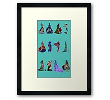 Disney Princess Portrait Framed Print