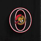 Ottawa Senators Minimalistic Print by SomebodyApparel
