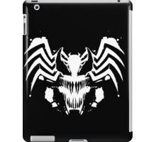 Rorschach Symbiote black iPad Case/Skin