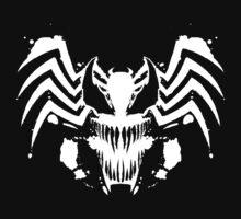 Rorschach Symbiote black Kids Clothes