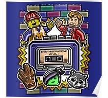 Everything is Awesome Mix Vol. 1 Poster