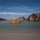 Rocks at Elephant Rocks Beach by Leonie Mac Lean