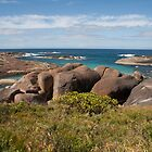 Elephant Rocks on the Great Southern Coast of Western Australia by Leonie Mac Lean