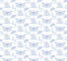 Bug Toile  by Lauren Rakes