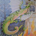 fire dragon by Laura Lea Comeau