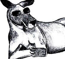 Cool Kangaroo by Tarnya  Burke